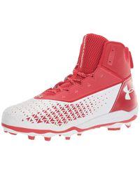 Hammer Mc Chaussure de football pour homme Under Armour en coloris Red