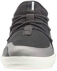 Ecco Black Intrinsic 3 Fashion Sneaker