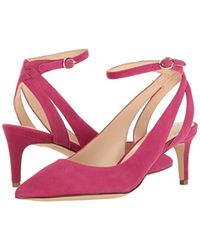 Nine West Pink Shawn Suede Dress Pump