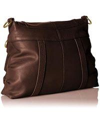 The Sak Brown Carmel Flap Messenger Bag