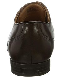 Kenneth Cole Brown Mix-ed Bag Oxford for men