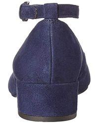 Nine West Blue Everina Suede Dress Pump