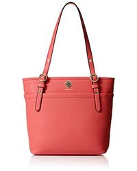 Anne Klein - Red Pocket Small Tote - Lyst
