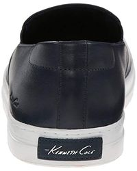 Kenneth Cole Blue Double Or Nothing Le Fashion Sneaker for men