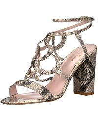 Kate Spade Natural Irving Heeled Sandal