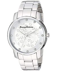 Tommy Bahama Metallic Tb00027-01 Analog Display Quartz Silver Watch