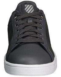 K-swiss Gray Clean Court Fashion Sneaker for men