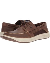 Sperry Top-Sider Brown Sperry Convoy 3-eye Boat Shoe for men