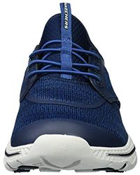 Skechers Blue Relaxed Fit-creston-argest Sneaker for men