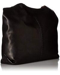 Frye Black Naomi Pickstitch Hobo Leather Handbag