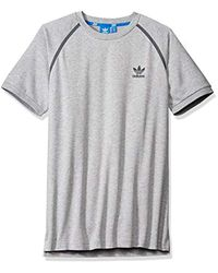 Adidas Originals Gray Sport Luxe Tee for men