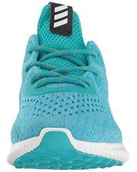 Adidas Blue Alphabounce Em W Running Shoe