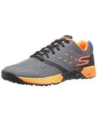 Skechers Gray Performance Go Train-endurance Walking Shoe for men