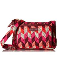 Vera Bradley Red Little Hipster, Signature Cotton