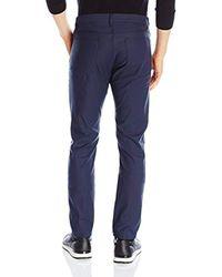 Theory Blue Raffi Converg Five-pocket Pant for men