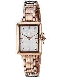 Ted Baker Multicolor 'tess' Quartz Stainless Steel Casual Watch