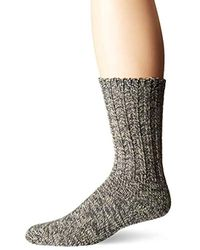 Woolrich Gray Merino Solid Ragg Wool Sock for men