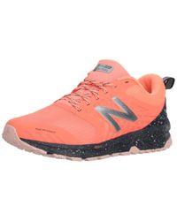 New Balance Pink Damen Nitrel V1 Traillaufschuhe