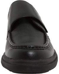 Hush Puppies Black Gil Slip-on Shoe for men