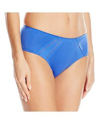 Columbia Blue Athletic Bonded Micro Cheeky Hipster