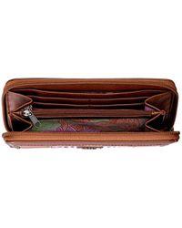 The Sak Multicolor Iris Zip Around Wallet