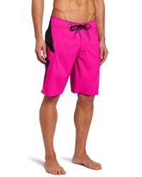 Volcom Pink Annihilator Solid Boardshort for men