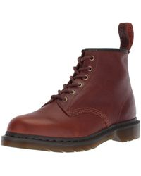 Dr. Martens Brown Erwachsene 101 Tan Harvest Leather modischer Stiefel