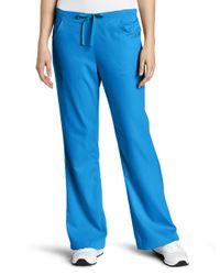 Carhartt Blue Scrubs Workflex 3 Pocket Flare Leg Pant