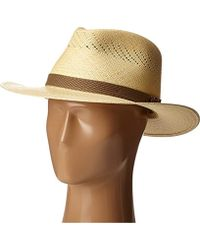 6b0986ce202 Lyst - Tommy Bahama Panama Vent Outback Hat in Natural for Men