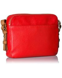 Fossil Red Piper Toaster Crossbody