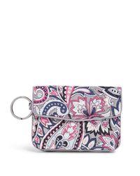Vera Bradley Multicolor Signature Cotton Jen Zip Id Case Wallet