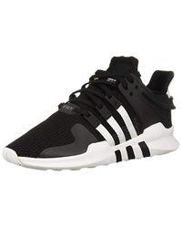 Adidas Originals Black Eqt Support Adv Running Shoe