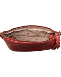 Lucky Brand Red April Xbody