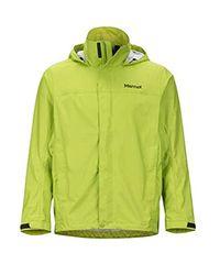 Marmot Green Precip Lightweight Waterproof Rain Jacket for men