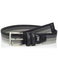 Cintura da uomo in tessuto elasticizzato - multicolore di Lee Jeans in Black da Uomo