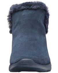 Skechers - Blue On-the-go City 2 Chukka Boots - Lyst