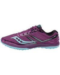 Saucony Purple Kilkenny Xc 7 Flat Cross Country Running Shoe
