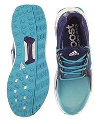 Adidas Blue W Climacross Boost Eneblu Golf Shoe