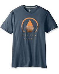 Volcom Blue Horizon Short Sleeve T-shirt for men