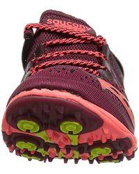 Saucony Red Carrera Xc 3 Flat Running Shoe
