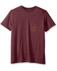 Volcom Multicolor Rookie Short Sleeve Pocket T-shirt for men