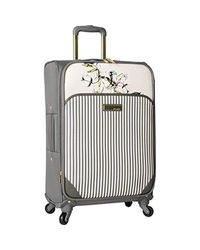 Vince Camuto Multicolor Expandable Spinner Carry On Suitcase
