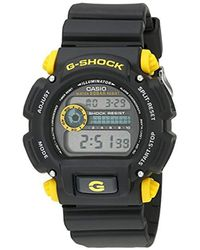 G-Shock Black 'g-shock' Quartz Resin Sport Watch for men