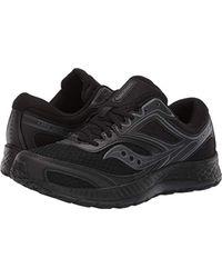 Saucony Black Versafoam Cohesion 12 Road Running Shoe for men