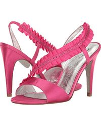Adrianna Papell Pink Everett Dress Sandal