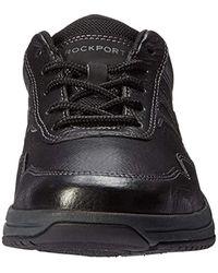 Rockport Black Edmund Fashion Sneaker for men