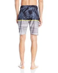 Rip Curl Gray Mirage Split Boardshort for men
