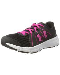 Ua W Rapid Chaussures de Running Noir Under Armour pour homme en coloris Black