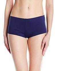Sperry Top-Sider Blue Sea Breeze Solid Surf Hipster Bikini Bottom