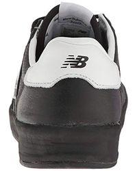 New Balance Crt300v1 Sneaker, Black/silver, 5 D Us for men